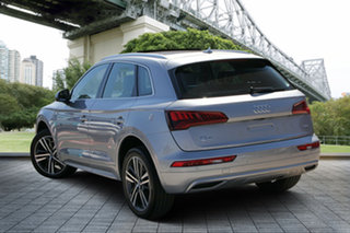 2018 Audi Q5 FY MY18 TDI S Tronic Quattro Ultra Sport Silver 7 Speed Sports Automatic Dual Clutch.