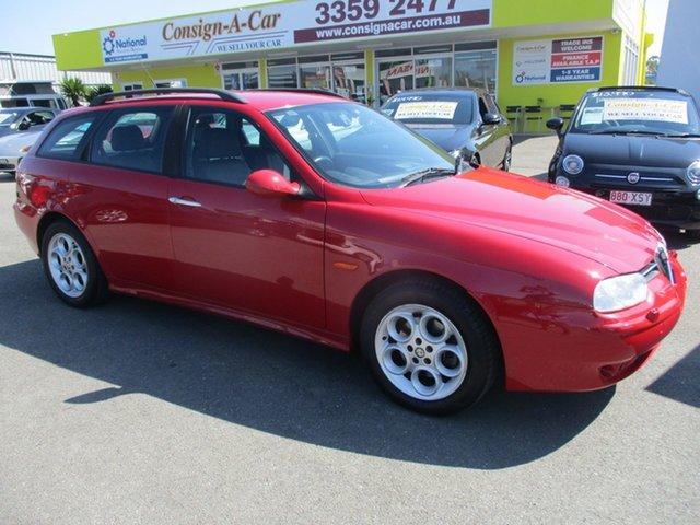 Used Alfa Romeo 156 MY2004 JTS, 2003 Alfa Romeo 156 MY2004 JTS Red 5 Speed Manual Wagon