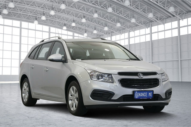 Used Holden Cruze JH Series II MY16 CD Sportwagon, 2016 Holden Cruze JH Series II MY16 CD Sportwagon Silver 6 Speed Sports Automatic Wagon