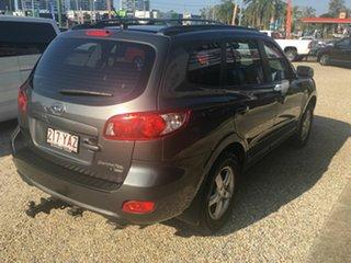2008 Hyundai Santa Fe CM MY08 Upgrade SLX CRDi (4x4) Grey 5 Speed Automatic Wagon