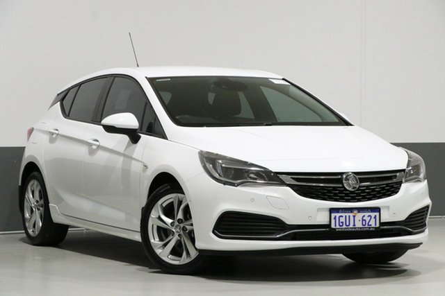 Used Holden Astra BK MY17.5 RS, 2017 Holden Astra BK MY17.5 RS White 6 Speed Automatic Hatchback