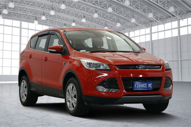 Used Ford Kuga TF MY16 Ambiente AWD, 2016 Ford Kuga TF MY16 Ambiente AWD Red 6 Speed Sports Automatic Wagon