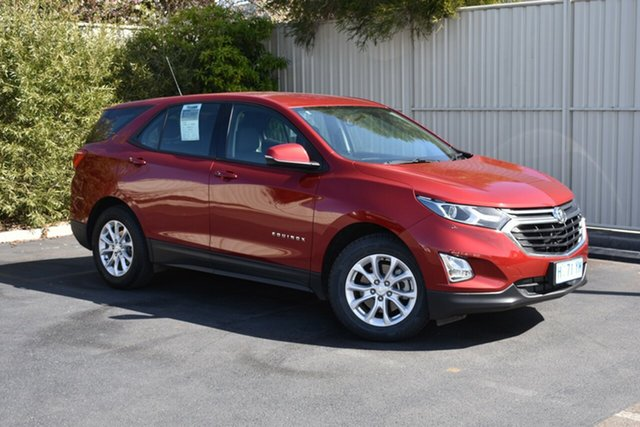 Used Holden Equinox EQ MY18 LS FWD, 2018 Holden Equinox EQ MY18 LS FWD Glory Red/black 6 Speed Sports Automatic Wagon