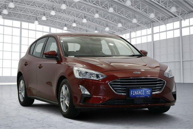 Used Ford Focus SA 2019.25MY Trend, 2019 Ford Focus SA 2019.25MY Trend Ruby Red 8 Speed Automatic Hatchback