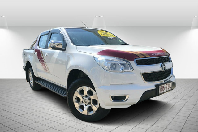 Used Holden Colorado RG MY16 LTZ Crew Cab, 2016 Holden Colorado RG MY16 LTZ Crew Cab Summit White 6 Speed Sports Automatic Utility