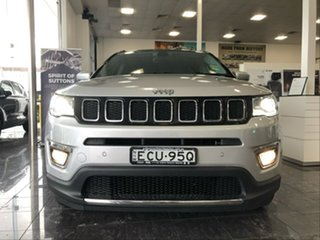 2019 Jeep Compass M6 MY18 Limited (4x4) Silver 9 Speed Automatic Wagon.