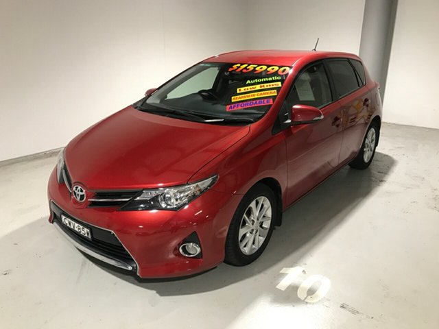 Used Toyota Corolla ZRE182R Ascent Sport S-CVT, 2014 Toyota Corolla ZRE182R Ascent Sport S-CVT Red 7 Speed Constant Variable Hatchback