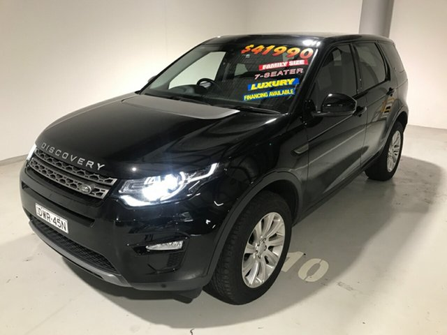 Used Land Rover Discovery Sport L550 15MY SD4 SE, 2015 Land Rover Discovery Sport L550 15MY SD4 SE Black 9 Speed Sports Automatic Wagon