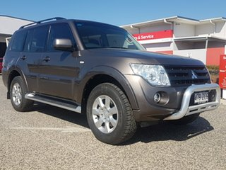 2013 Mitsubishi Pajero NW MY13 GLX-R LWB (4x4) 5 Speed Auto Sports Mode Wagon
