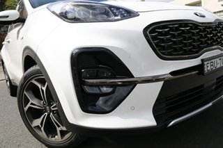 2020 Kia Sportage QL MY21 GT-Line AWD Clear White 6 Speed Sports Automatic Wagon