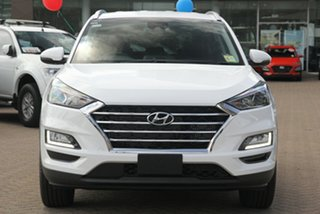 2020 Hyundai Tucson TL3 MY21 Elite 2WD Pure White 6 Speed Automatic Wagon