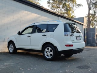 2007 Mitsubishi Outlander ZG MY07 LS White 6 Speed Constant Variable Wagon