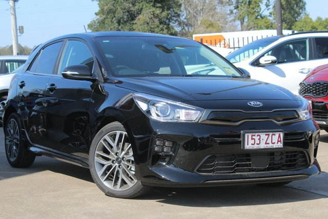 Used Kia Rio YB MY19 GT-Line DCT, 2019 Kia Rio YB MY19 GT-Line DCT Aurora Black Pearl 7 Speed Sports Automatic Dual Clutch Hatchback