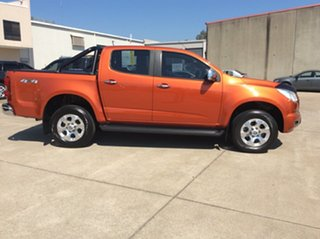 2016 Holden Colorado RG MY16 LTZ Crew Cab Orange Rock 6 Speed Manual Utility