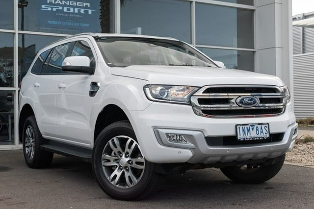 Used Ford Everest UA 2018.00MY Trend 4WD, 2018 Ford Everest UA 2018.00MY Trend 4WD 6 Speed Sports Automatic Wagon