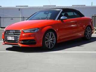 2014 Audi S3 8V MY15 S Tronic Quattro 6 Speed Sports Automatic Dual Clutch Cabriolet