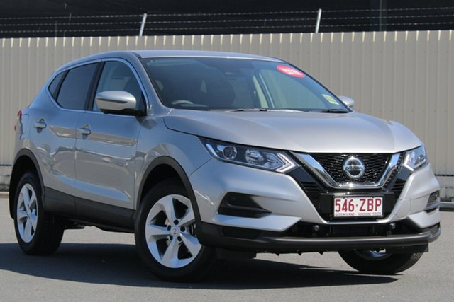 Demo Nissan Qashqai J11 Series 2 ST+ X-tronic, 2019 Nissan Qashqai J11 Series 2 ST+ X-tronic Platinum 1 Speed Constant Variable Wagon