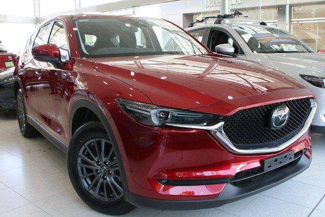 Demo Mazda CX-5 KF2W7A Maxx SKYACTIV-Drive FWD Sport, 2019 Mazda CX-5 KF2W7A Maxx SKYACTIV-Drive FWD Sport Soul Red Crystal 6 Speed Sports Automatic Wagon