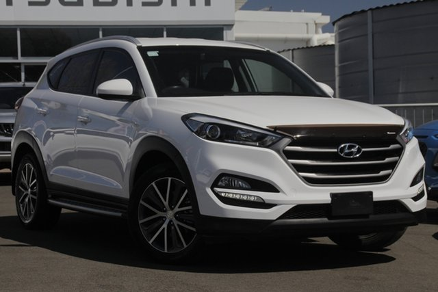 Used Hyundai Tucson TL Active X 2WD, 2015 Hyundai Tucson TL Active X 2WD White 6 Speed Sports Automatic Wagon
