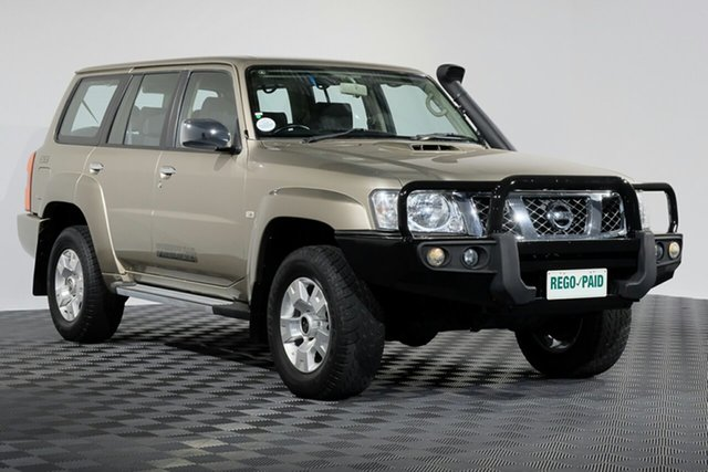 Used Nissan Patrol Y61 GU 9 ST, 2015 Nissan Patrol Y61 GU 9 ST Gold 4 speed Automatic Wagon