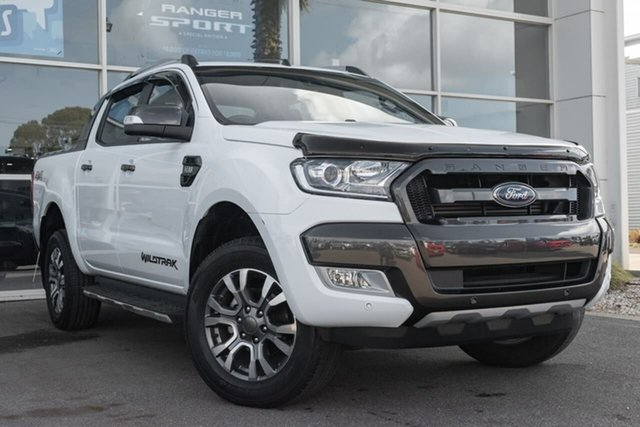 Used Ford Ranger PX MkII Wildtrak Double Cab, 2017 Ford Ranger PX MkII Wildtrak Double Cab 6 Speed Sports Automatic Utility