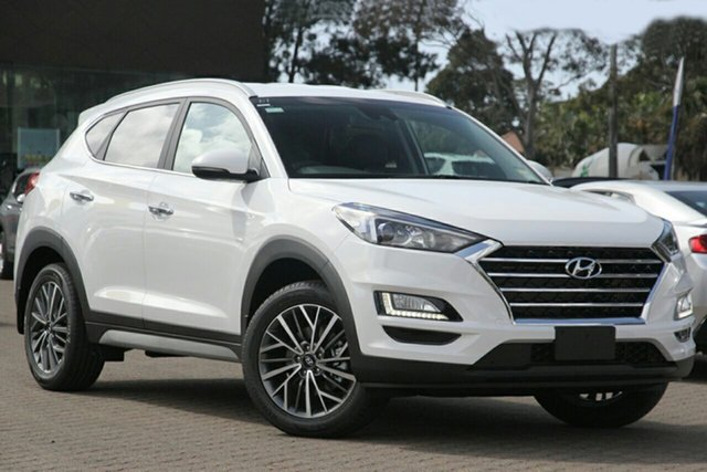New Hyundai Tucson TL3 MY20 Elite (2WD) Black INT, 2020 Hyundai Tucson TL3 MY20 Elite (2WD) Black INT Pure White 6 Speed Automatic Wagon