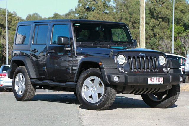 Used Jeep Wrangler JK MY18 Unlimited Sport, 2018 Jeep Wrangler JK MY18 Unlimited Sport Grey 5 Speed Automatic Softtop