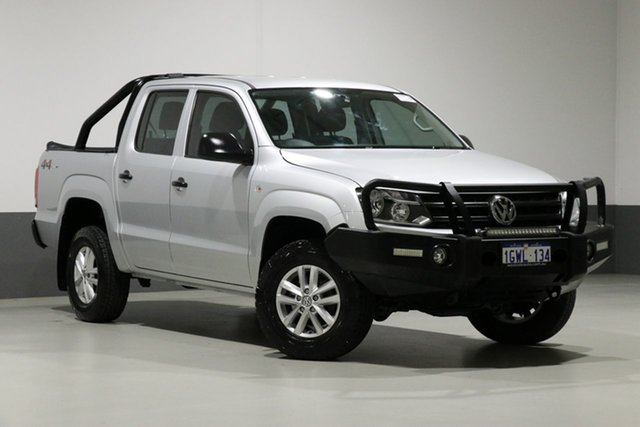 Used Volkswagen Amarok 2H MY16 TDI420 Core Edition (4x4), 2016 Volkswagen Amarok 2H MY16 TDI420 Core Edition (4x4) Silver 8 Speed Automatic Dual Cab Utility