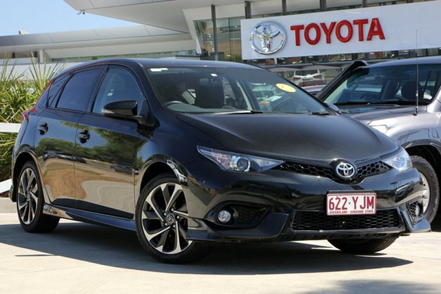 Used Toyota Corolla ZRE182R SX S-CVT, 2017 Toyota Corolla ZRE182R SX S-CVT Ink 7 Speed Constant Variable Hatchback