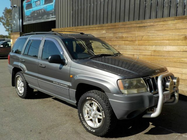 Used Jeep Grand Cherokee WG MY2003 Laredo, 2003 Jeep Grand Cherokee WG MY2003 Laredo Grey 5 Speed Automatic Wagon