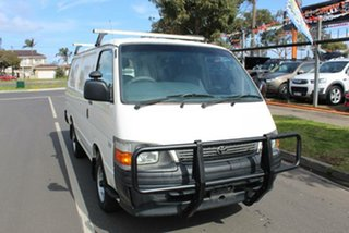 2004 Toyota HiAce RZH103R White 5 Speed Manual Van.