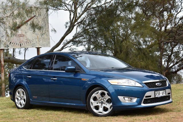 Used Ford Mondeo MA XR5 Turbo, 2007 Ford Mondeo MA XR5 Turbo Blue 6 Speed Manual Hatchback
