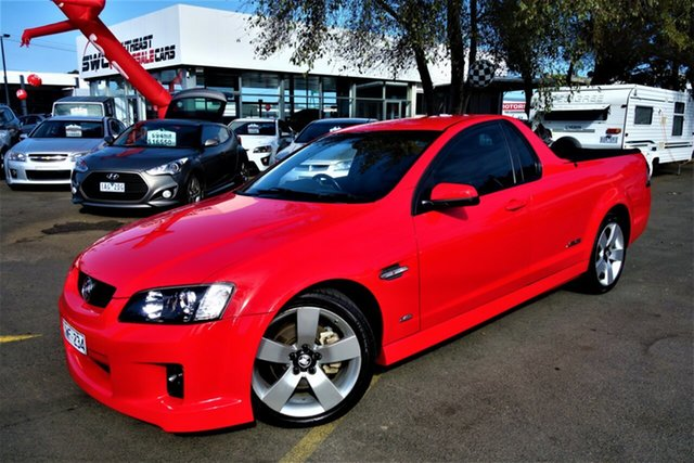Used Holden Ute VE MY10 SS V, 2010 Holden Ute VE MY10 SS V Red 6 Speed Manual Utility