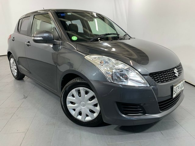 Used Suzuki Swift FZ GL, 2013 Suzuki Swift FZ GL Grey 5 Speed Manual Hatchback