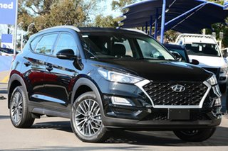 2020 Hyundai Tucson TL4 MY21 Active X 2WD Phantom Black Pearl 6 Speed Automatic Wagon