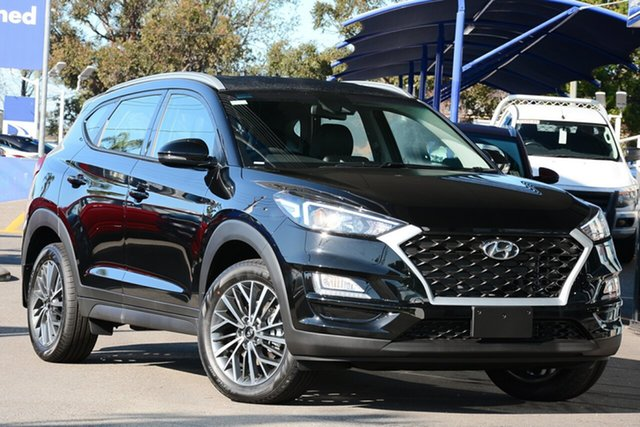 New Hyundai Tucson TL4 MY21 Active X 2WD Nunawading, 2020 Hyundai Tucson TL4 MY21 Active X 2WD Phantom Black 6 Speed Automatic Wagon