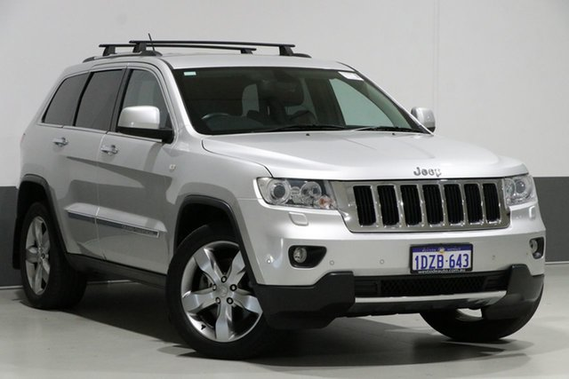 Used Jeep Grand Cherokee WK MY12 Limited (4x4), 2012 Jeep Grand Cherokee WK MY12 Limited (4x4) Silver 5 Speed Automatic Wagon