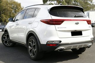 2020 Kia Sportage QL MY21 GT-Line AWD Clear White 6 Speed Sports Automatic Wagon.