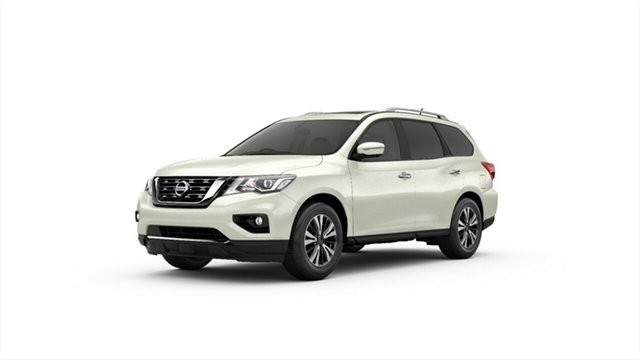 Demo Nissan Pathfinder R52 Series III MY19 ST+ X-tronic 2WD, 2019 Nissan Pathfinder R52 Series III MY19 ST+ X-tronic 2WD Ivory Pearl 1 Speed Constant Variable