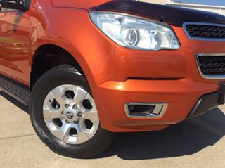2016 Holden Colorado RG MY16 LTZ Crew Cab Orange Rock 6 Speed Manual Utility.