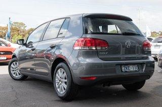 2012 Volkswagen Golf VI MY12.5 90TSI DSG Trendline 7 Speed Sports Automatic Dual Clutch Hatchback.