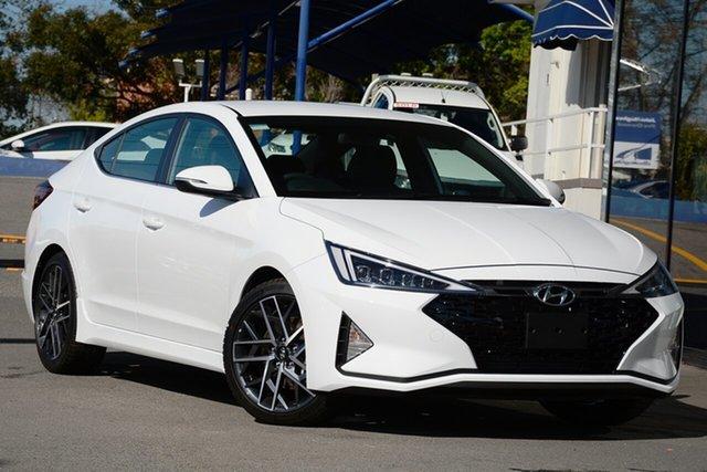 New Hyundai Elantra AD.2 MY20 Sport DCT Launceston, 2020 Hyundai Elantra AD.2 MY20 Sport DCT Fluidic Metal 7 Speed Sports Automatic Dual Clutch Sedan