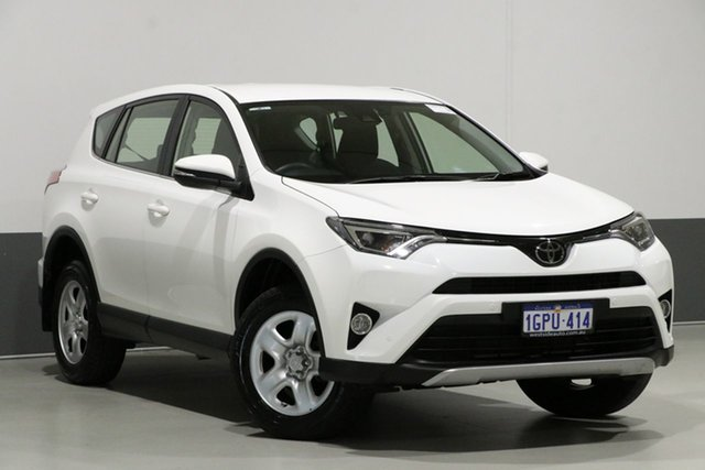 Used Toyota RAV4 ZSA42R MY18 GX (2WD), 2018 Toyota RAV4 ZSA42R MY18 GX (2WD) White Continuous Variable Wagon