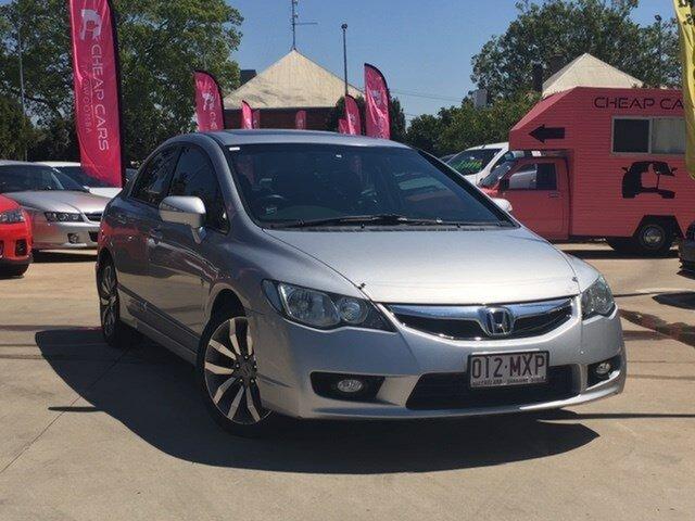 Used Honda Civic 8th Gen MY10 Sport, 2010 Honda Civic 8th Gen MY10 Sport Silver 5 Speed Automatic Sedan