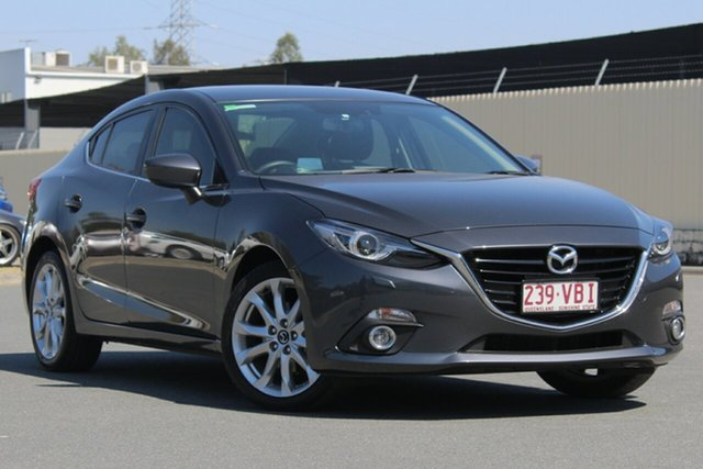 Used Mazda 3 BM5236 SP25 SKYACTIV-MT GT, 2013 Mazda 3 BM5236 SP25 SKYACTIV-MT GT Grey 6 Speed Manual Sedan