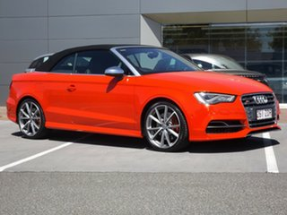 2014 Audi S3 8V MY15 S Tronic Quattro 6 Speed Sports Automatic Dual Clutch Cabriolet.