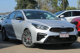 2019 Kia Cerato BD MY19 GT DCT Silky Silver 7 Speed Sports Automatic Dual Clutch Sedan.