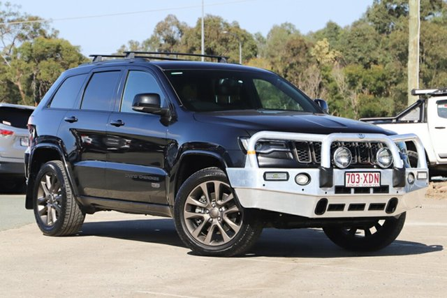 Used Jeep Grand Cherokee WK MY16 75th Anniversary, 2016 Jeep Grand Cherokee WK MY16 75th Anniversary Brilliant Black Crystal Pearl 8 Speed