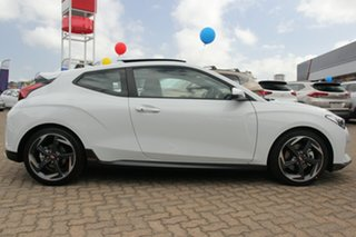 2019 Hyundai Veloster JS MY20 Turbo Coupe D-CT Premium Chalk White 7 Speed