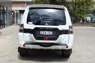 2018 Mitsubishi Pajero NX MY19 GLS White 5 Speed Sports Automatic Wagon